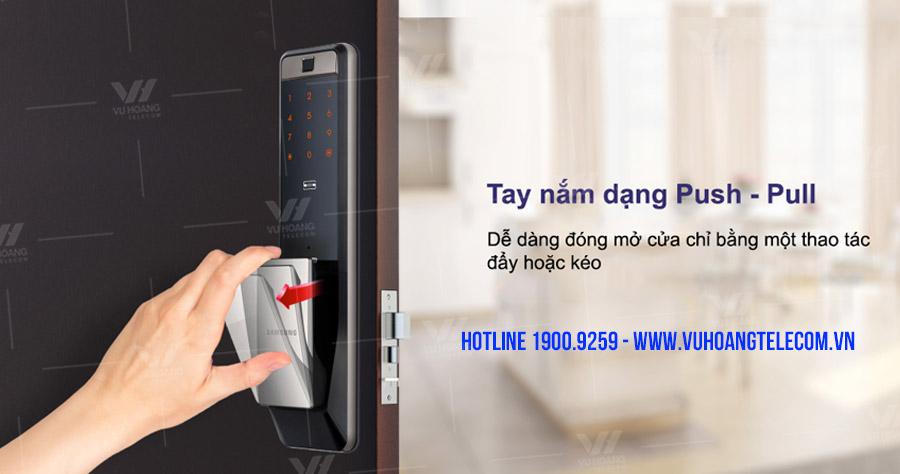 Khóa cửa điện tử Wifi SAMSUNG SHP-DP609AS/EN giá tốt