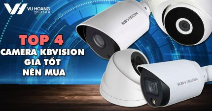 Top 4 camera KBVISION giá tốt nên mua