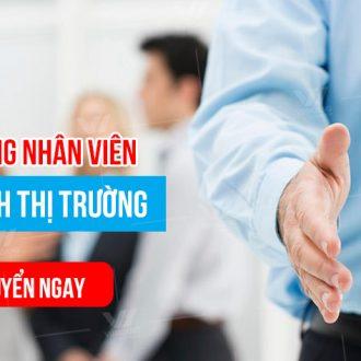Tuyển dụng nhân viên Kinh Doanh thị trường tại TpHCM năm 2020