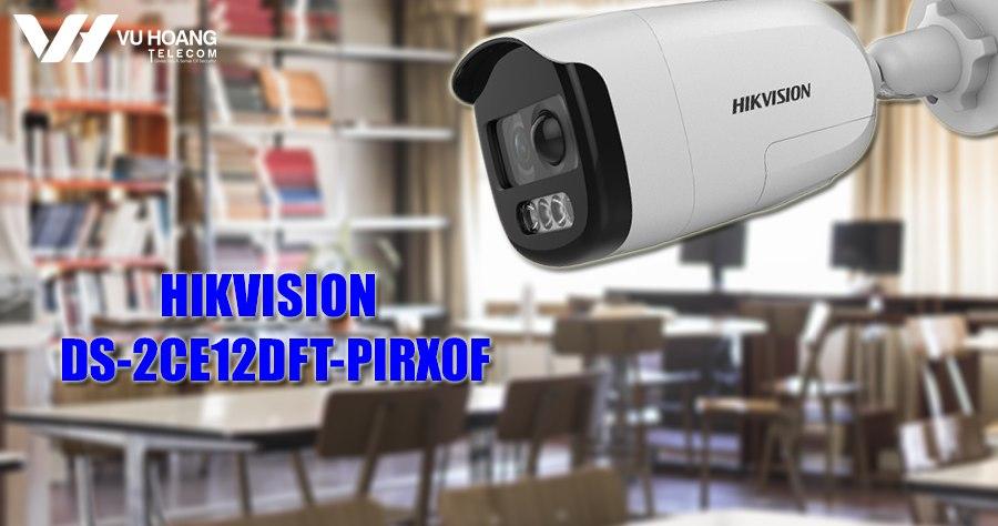 Camera quan sat HIKVISION DS-2CE12DFT-PIRXOF