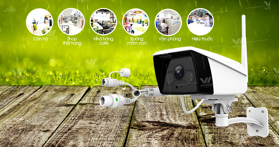Camera IP Wifi EBITCAM EBO2 STARLIGHT 2MP