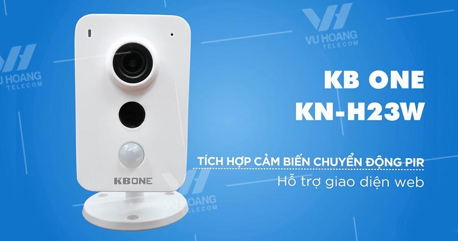 Camera IP Wifi 2.0MP KBONE KN-H23W giá rẻ
