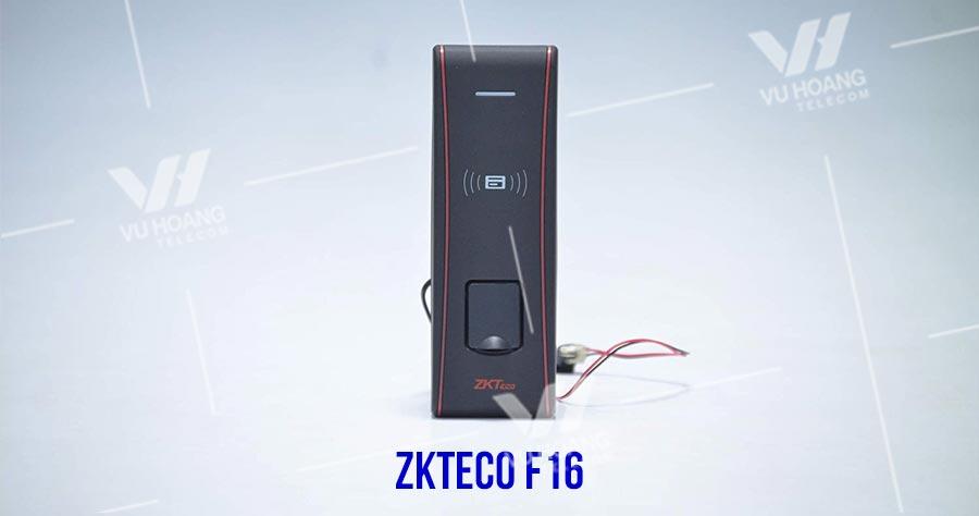 Thiết bị chấm công và kiểm soát ra vào ZKTECO F16