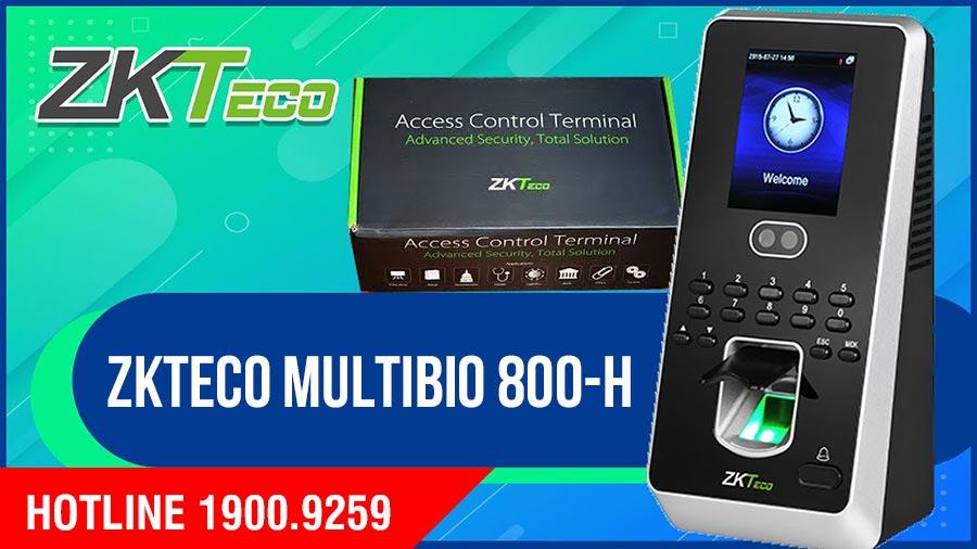 ZKTECO MultiBio 800-H