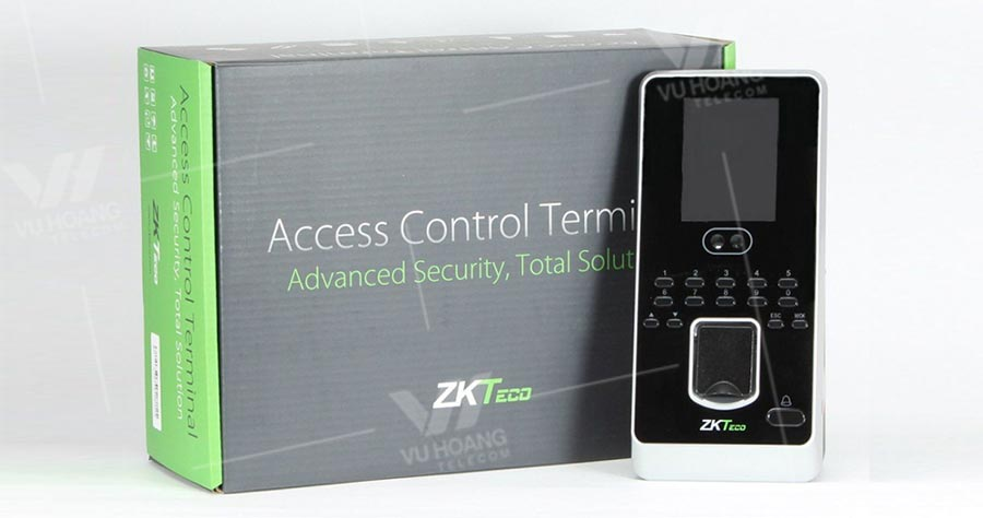 Thiết bị chấm công và kiểm soát ra vào ZKTECO MultiBio 800-H