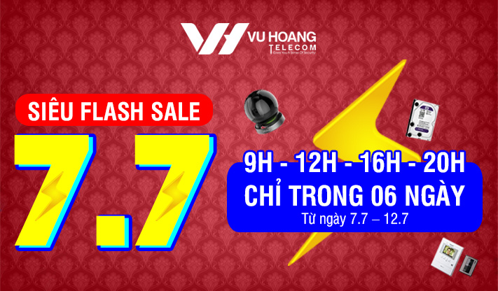 Siêu Flash Sale 7-7 - Giờ Vàng Giá Sốc