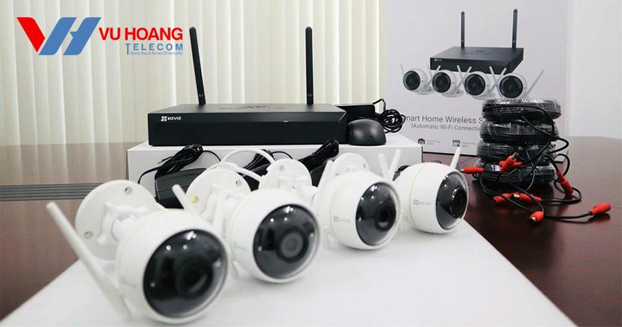 Bộ Kit camera IP Wifi EZVIZ CS-BW3824B0-E40