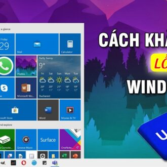 cach khac phuc loi Windows Update