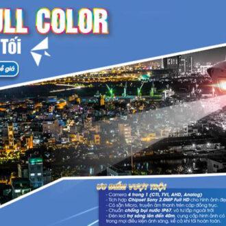 Camera Full Color KBVISION quan sát ban đêm có màu