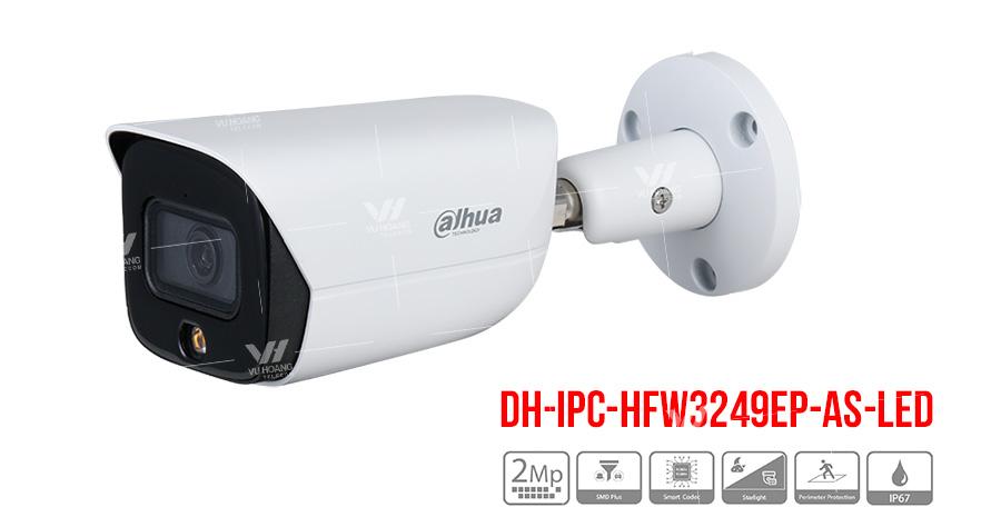 Camera IP Full-Color 2MP DAHUA DH-IPC-HFW3249EP-AS-LED