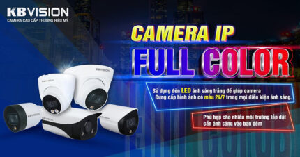 Camera IP Full Color KBVISION