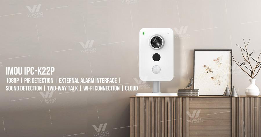 Bán camera Wifi IMOU IPC-K22P dòng Cube 2.0 megapixel giá rẻ