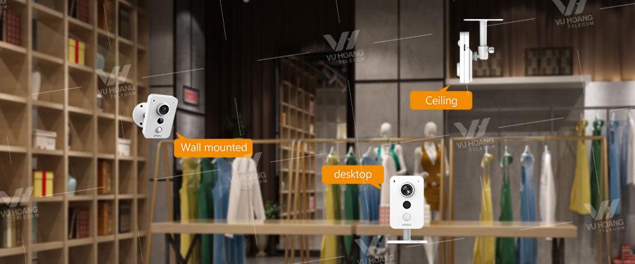 IPC-K42P dễ dàng lắp đặt cho gia đình, shop