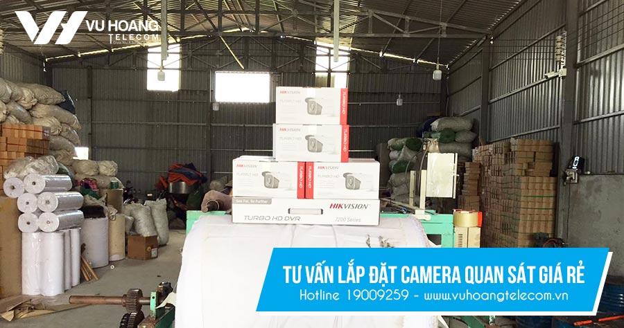 Dịch vụ lắp đặt camera quan sát giá rẻ tại Vuhoangtelecom