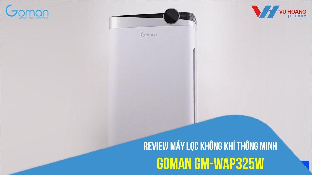 Bán máy lọc không khí WIFI GOMAN GM-WAP325W có khay nước giá rẻ