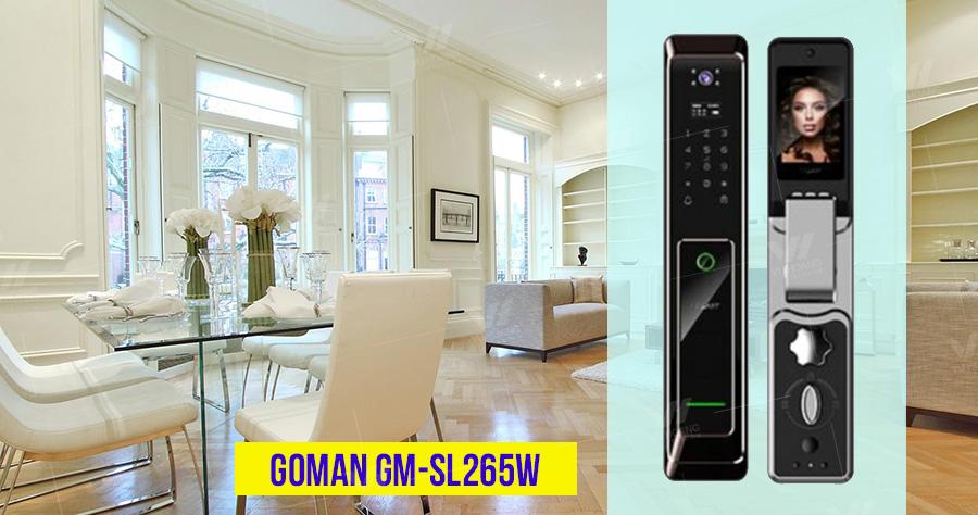 Bán Khóa cửa thông minh cao cấp GOMAN GM-SL265W giá rẻ