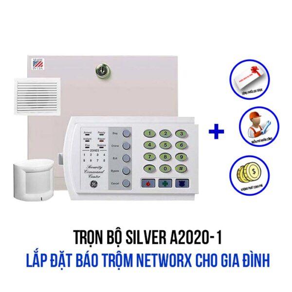Lắp đặt báo trộm NetworX cho gia đình gói SILVER A2020-1