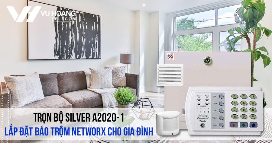Lắp đặt bộ báo trộm NetworX cho gia đình (SILVER A2020-1) giá rẻ