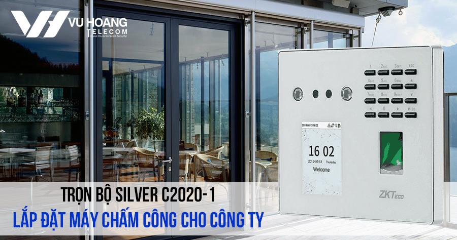 Lắp đặt máy chấm công cho công ty giá rẻ gói SILVER C2020-1