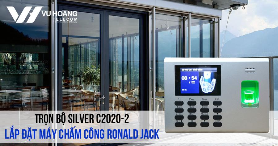 Lắp đặt máy chấm công Ronald Jack giá rẻ gói SILVER C2020-1