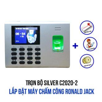 Lắp đặt máy chấm công Ronald Jack gói SILVER C2020-1