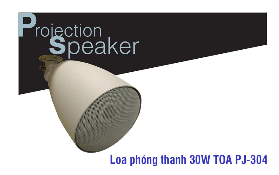 Bán Loa phóng thanh TOA PJ-304 chất lượng
