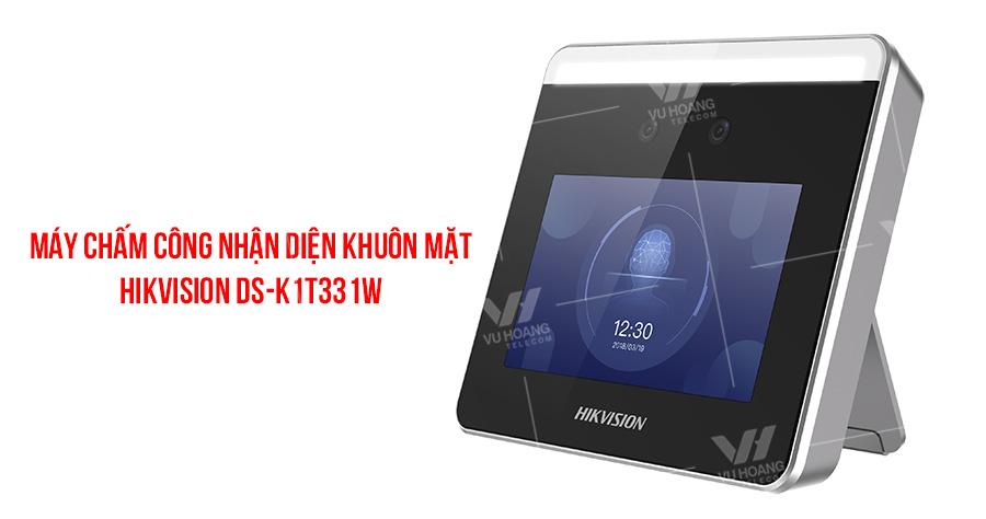 Máy chấm công nhận diện khuôn mặt HIKVISION DS-K1T331W giá rẻ