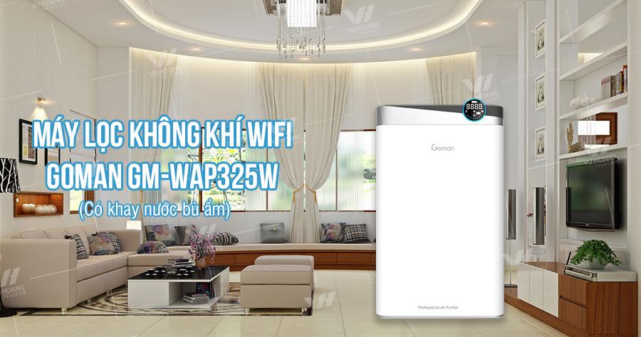 Bán máy lọc không khí WIFI GOMAN GM-WAP325W giá rẻ