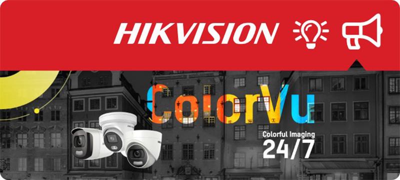 Công ty bán camera ColorVu Hikvision giá tốt