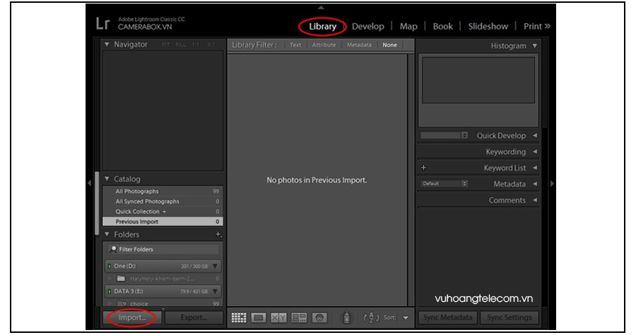 cach add import va export preset vao camera raw - 2