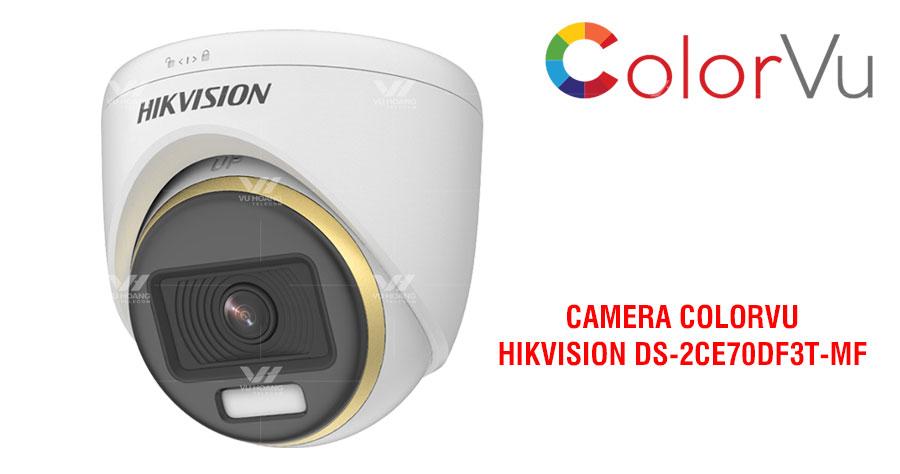 Camera HDTVI ColorVu 2MP HIKVISION DS-2CE70DF3T-MF giá rẻ