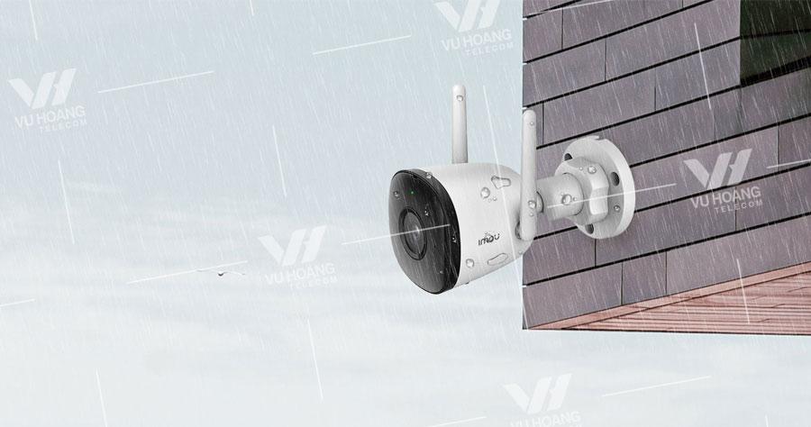 Camera WIFI ngoài trời IPC-F22P hỗ trợ chống nước IP67