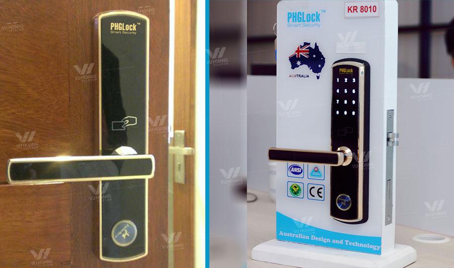 Khóa cửa cho căn hộ PHGLOCK KR8010