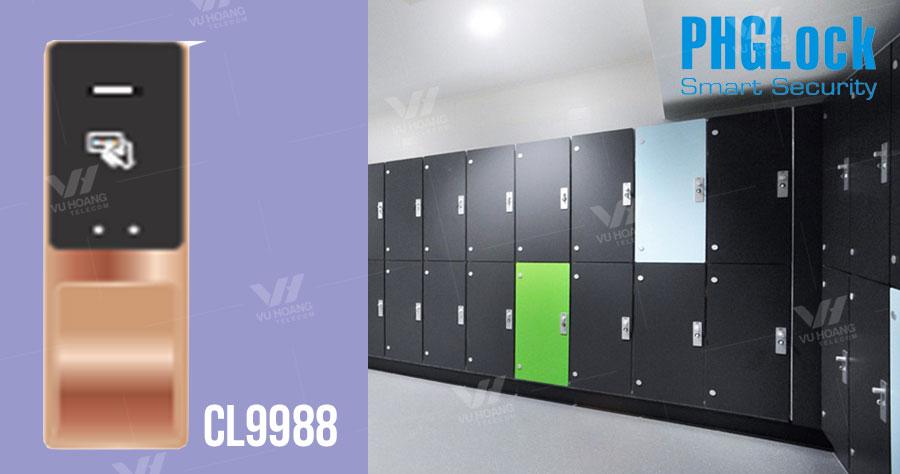 Bán khóa cửa tủ dùng mã số, thẻ cảm ứng PGHLock CL9988 giá rẻ