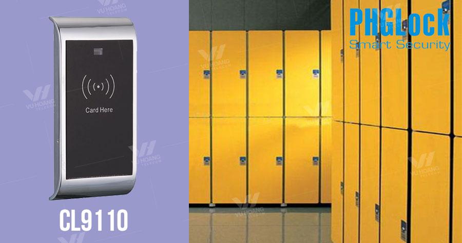 Bán khóa cửa tủ đồ dùng thẻ cảm ứng PGHLock CL9110 giá rẻ