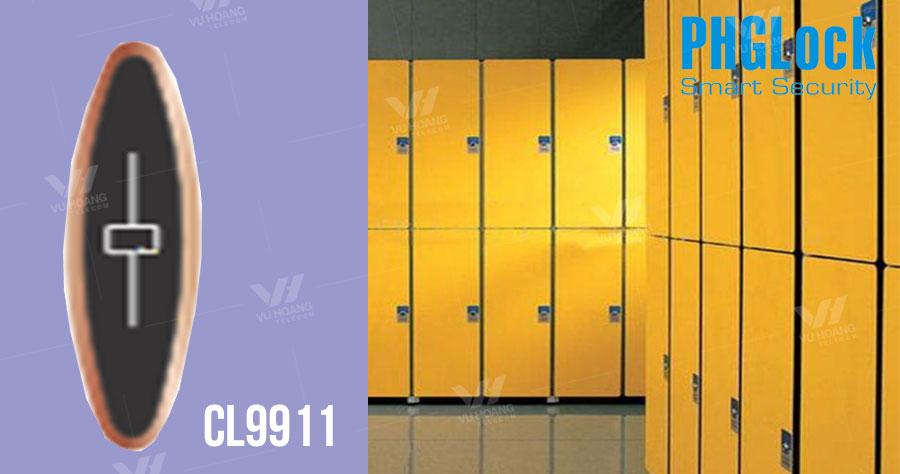 Bán khóa cửa tủ dùng thẻ cảm ứng PGHLock CL9911 giá rẻ, chính hãng