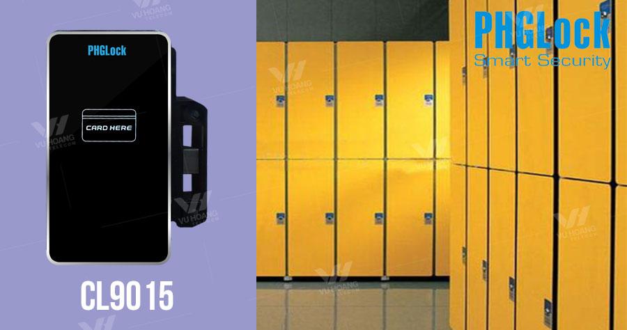 Bán khóa cửa tủ dùng thẻ từ PGHLock CL9015 giá rẻ, chính hãng