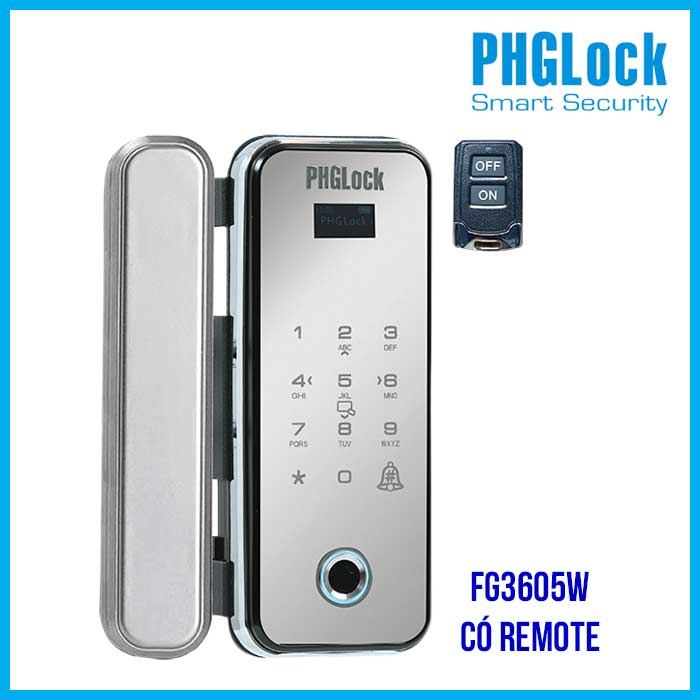 PHGLOCK FG3605W có remote