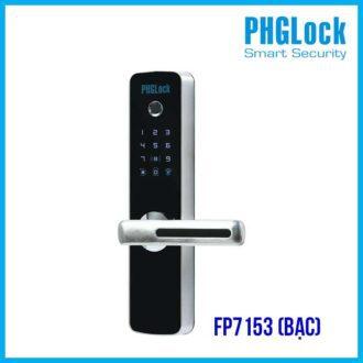 Khóa điện tử vân tay PHGLOCK FP7153 (Bạc)
