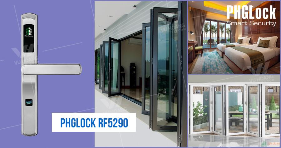 khoa dien tu cho can ho khach san PHGLOCK RF5290