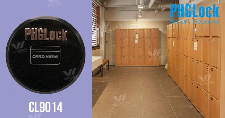 Bán khóa cửa tủ đồ dùng thẻ cảm ứng PGHLock CL9014 giá rẻ