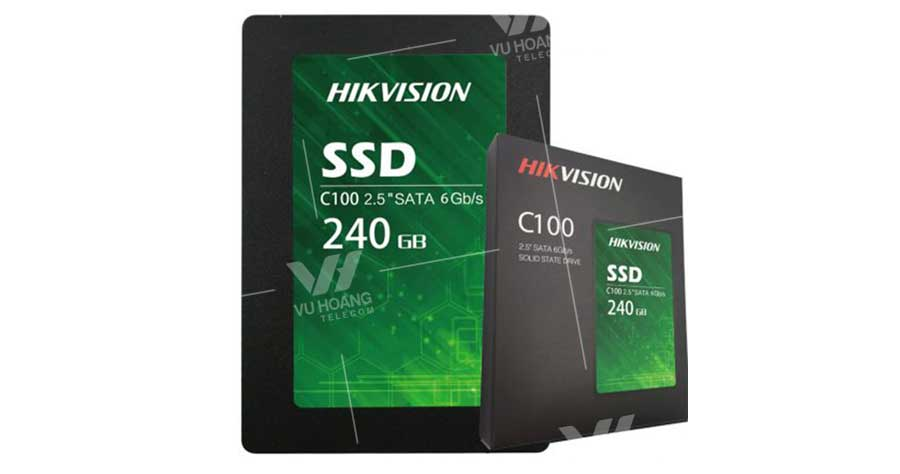 Bán Ổ cứng lưu trữ SSD HIKVISION C100 240G giá rẻ