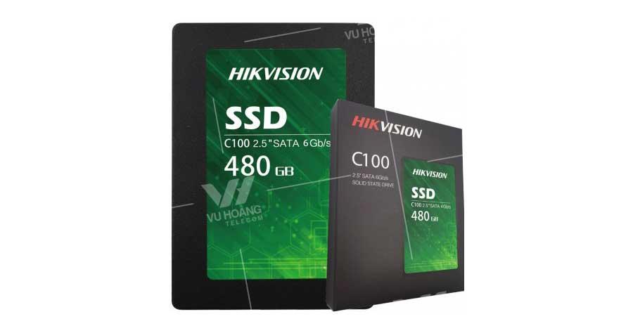 Bán Ổ cứng lưu trữ SSD HIKVISION C100 480G giá rẻ