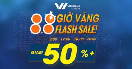 Siêu khuyến mãi Flash Sale 8.8 từ 08/08 – 15/08 tại Vuhoangtelecom