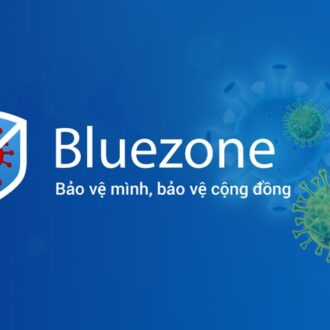 ung dung Bluezone trong mua Covid-19