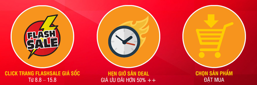 Flash Sale 8.8 mỗi ngày
