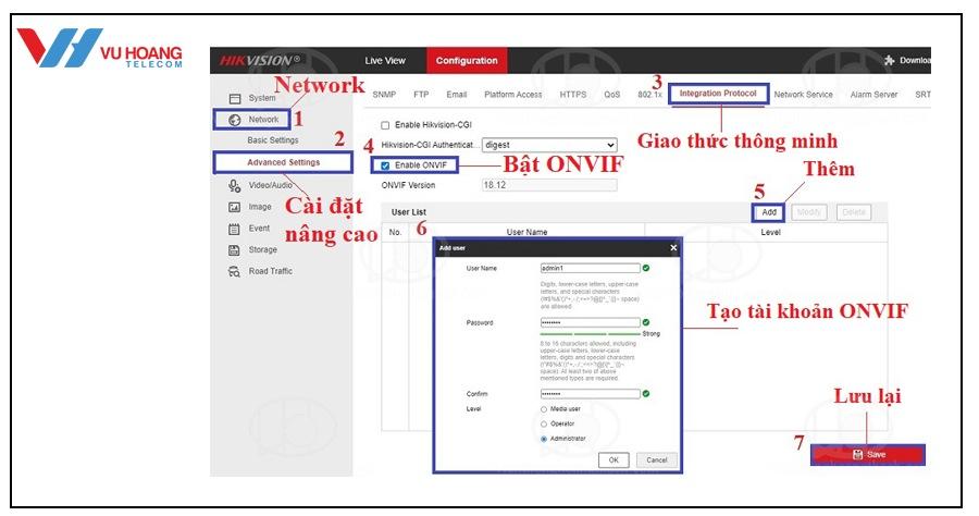 add camera IP vao dau ghi Hikvision don gian - 4