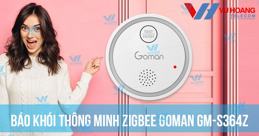 Bán báo khói thông minh Zigbee GOMAN GM-S364Z giá rẻ