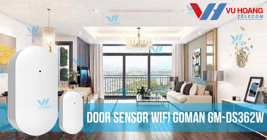 Bán Cảm biến cửa từ Wifi GOMAN GM-DS362W giá rẻ, chính hãng