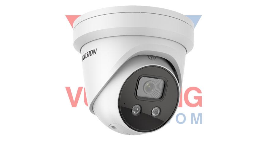 Camera IP AcuSense Dome 4MP HIKVISION DS-2CD2346G2-ISU/SL